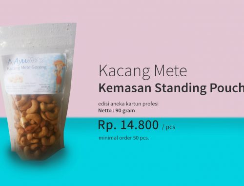 Kacang Mete Standing Pouch 90gr